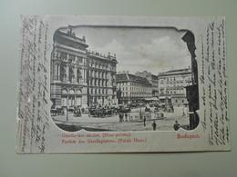 HONGRIE BUDAPEST GIZELLA TERI RESZLET.PARTHIE DES GISELLAPLATZES  PRECURSEUR - Hongrie