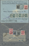 Beleg 1931, 3 Verschiedene LP-Briefe Innerhalb Brasiliens Befördert (Michel: 319-20 U.a.) - Ohne Zuordnung