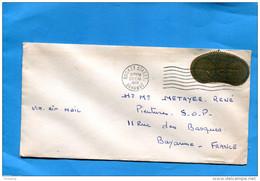 Marcophilie-lettre BAHAMAS  >Françe Cad Mack Street 1988  Stamp N° 274 -Monnaie D'or - Bahamas (1973-...)