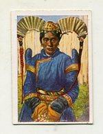 SB02103 Die Welt In Bildern Album 3 Aus Dem Reich Der Mongolen 104-3 Mongolin Mit Phantastischen Kopfputz - Cigarettes