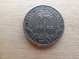 Britich  West Africa  1  Shilling  1952  Km 28 - British Colony