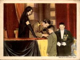 ALTES FOTO ROI DÉCORE UN JEUNE HÉROS CHOCOLAT L'AIGLON 19cm X 14 Cm Photo Bild König King Held Hero - Repro's