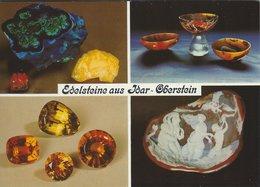 Edelsteine Aus Idar - Oberstein. Germany.  Sent To Denmark 1989   # 07895 - Fine Arts