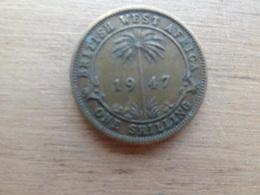 Britich  West Africa  1  Shilling  1947  Km 23 - British Colony