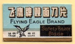 Rasage. Razor Blade. Lame De Rasoir. Lame Flying Eagle Brand. Made In China, Shangai. - Razor Blades