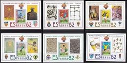 Soccer Football Sao Tome E Principe Bl 84/89 1982 World Cup Spain MNH ** - Wereldkampioenschap