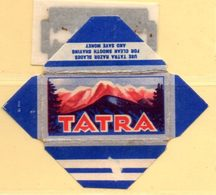 Rasage. Razor Blade. Lame De Rasoir. Lame Tatra. - Lames De Rasoir