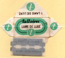 Rasage. Razor Blade. Lame De Rasoir. Lame Talloires Luxe. - Lames De Rasoir