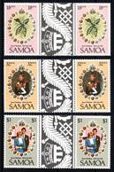SAMOA  Mariage Prince Charles Lady Diana  Neufs Sans Charnière N° Yv 495 / 497 Avec Pont - Samoa