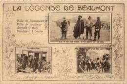 BELGIQUE - HAINAUT - BEAUMONT - La Légende De Beaumont. - Beaumont