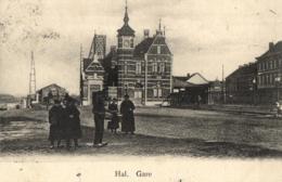 BELGIQUE - BRABANT FLAMAND - HAL - HALLE - Gare. - Halle