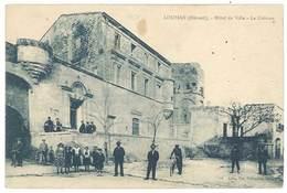 Cpa Loupian - Hôtel De Ville - Le Château - France