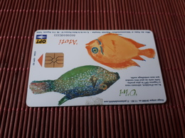 Phonecard Polynesie Fish   Only 50.000 Made Used Rare - Polynésie Française