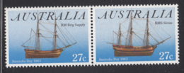 Australia 1983 MNH Scott #862a 27c HMS Sirius, HM Brig Supply Ships Australia Day - 1980-89 Elizabeth II