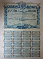 Société Navale De L'ouest - Navigation