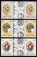 SIERRA LEONE  Mariage Prince Charles Lady Diana  Neufs Sans Charnière N° Yv 472 / 477 Avec Pont - Sierra Leone (1961-...)