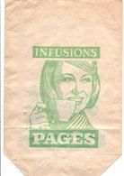 SACHET D'EMBALLAGE INFUSION ET VERVEINE DU VELAY PAGES - Autres Collections