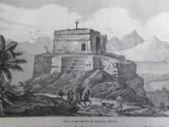 Gravure 1858   Presqu Ile De  SAMANA  Haiti - Haiti