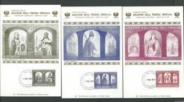 966--1966 . VATICAN  ISSUE . MILLENIUM OF  POLISH  CHRISTIANITY . - Vatican