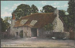 An Old Devonshire Cottage, C.1905-10 - Shurey's Postcard - England