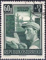 Austria 1951 - Rebuilding : Brick-Layer ( Mi 961 - YT 795 ) - 1945-.... 2nd Republic