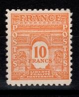 YV 629 N** Arc De Triomphe Cote 38,50 Euros - Francia
