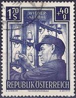 Austria 1951 - Rebuilding : Telegraph-labourer ( Mi 963 - YT 797 ) - 1945-.... 2ème République