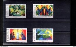 SAINTE LUCIE 1075/1078** SUR  NOEL 1997 - St.Lucie (1979-...)