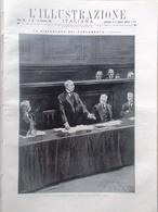 L'illustrazione Italiana 13 Dicembre 1914 WW1 Salandra Parlamento Russia Parigi - Guerre 1914-18