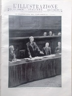L'illustrazione Italiana 13 Dicembre 1914 WW1 Salandra Parlamento Russia Parigi - Guerra 1914-18