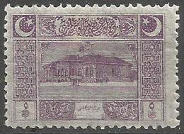 Turkey - 1922  Parliament House 5pa  MH *     Mi 787  Sc AS98 - Unused Stamps