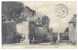 Cpa Alignan Du Vent - Fontaine Antique - France