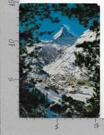 CARTOLINA VG SVIZZERA - ZERMATT Mit Matterhorn - 10 X 15 - ANN. 1963 TASSATA - VS Valais