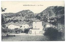 Cpa Gorniès - Le Claux - France