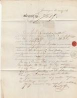 Autographe - LAS Montgolfier - Annonay (Ardèche) Lette Du 26 Mars 1863 - Autographs