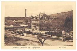 Cpa Brissac - La Papeterie - France