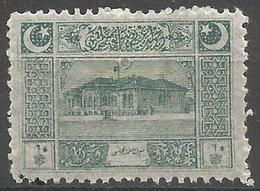 Turkey - 1922  Parliament House 10pa MH *     Mi 788  Sc AS99 - Unused Stamps