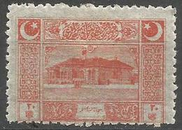 Turkey - 1922  Parliament House 20pa MH *     Mi 789  Sc AS100 - Nuevos