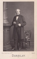 SAINT GERMAIN LES CORBEIL     PHOTO CARTON   11,5 / 7 Cm XIX E Siecle MR DARBLAY MAIRE DEPUTE REAL PHOTO - France