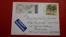 L'Autriche Enveloppe Circulé Avec Timbre De Grenouille - Kikkers