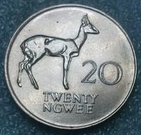 Zambia 20 Ngwee, 1988 - Zambie