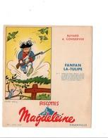 BUVARD BISCOTTES MAGDELEINE - FANFAN LA TULIPE - Blotters