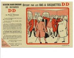 BUVARD CONCOURS BAS ET SOCQUETTES DD 1953 - Blotters