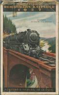 Reichsbahn-Kalender 1927 - Vollständiges Exemplar - Herausgeber Dr. Ing. Dr. Hans Baumann Berlin - Konkordia Verlag Leip - Kalender