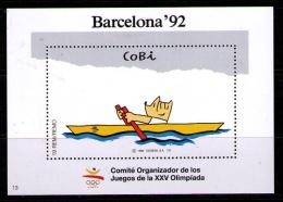 HOJITA RECUERDO OFICIAL DEL C.O.O.B.92 Nº 13 DEL COBI DEPORTES: REMO - Roeisport