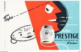 PRESTIGE / RASOIR CALOR - Buvards, Protège-cahiers Illustrés