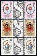 SOLOMON ISLANDS  Mariage Prince Charles Lady Diana  Neufs Sans Charnière N° Yv 432 / 434 Avec Pont  Iles Salomon - Salomon (Iles 1978-...)