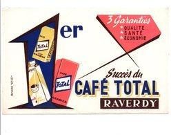 BUVARD CAFE TOTAL RAVERDY - Blotters