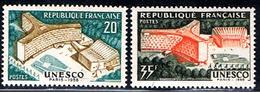 3E 023 // Y&T 1177,1178 // 1958 - Neufs