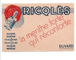 BUVARD ALCOOL DE MENTHE RICQLES - Blotters